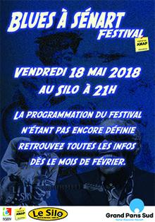 21.BLUES A SÉNART 2018 - Vendredi 18 mai 2018 à 21H